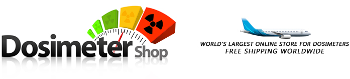 Dosimeter Shop - Free Shipping Worldwide!